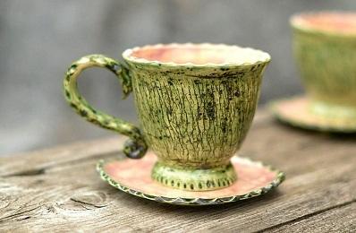 Чашки и чайные пары