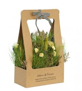 Полевые цветы стабилизированные в коробке 34JN-184