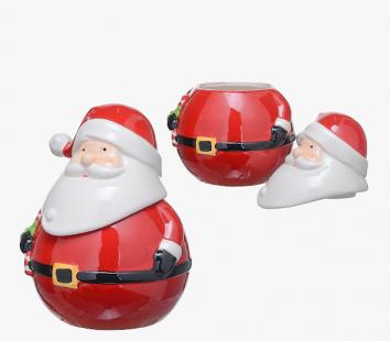 Банка-Дед Мороз для Печенья