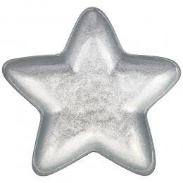 """БЛЮДО """"STAR"""" SILVER SHINY 17х17 СМ БЕЗ УПАКОВКИ"""
